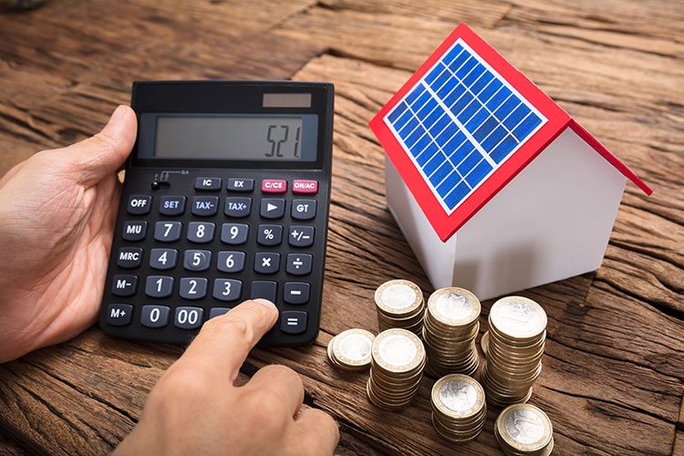 solar panel money calculator rebate