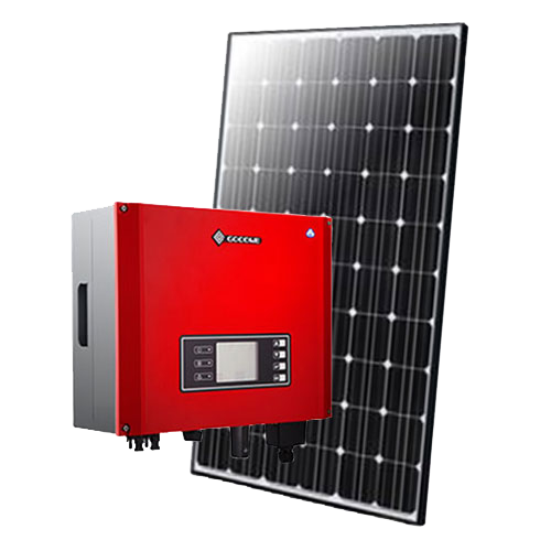 6.6kw 300w goodwe triple phase et solar package